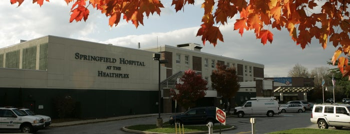 Springfield Hospital is one of Usual Haunts.