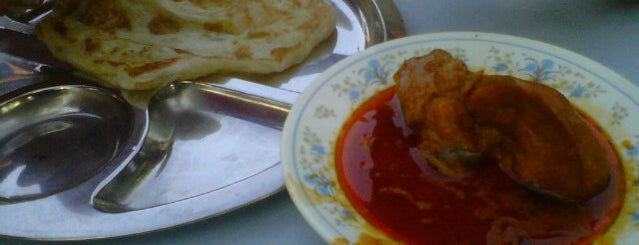 Gerai Roti Canai Hussain is one of Favorite affordable date spots.
