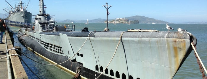 USS Pampanito is one of Museums.