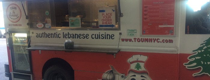 Toum Lebanese Truck is one of NYC Food on Wheels.