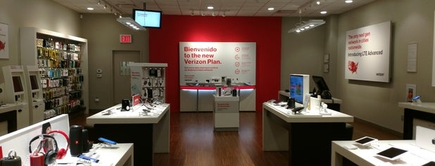Verizon is one of Queens Center Mall.