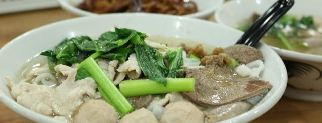 Sang Nyuk Noodle 东风生肉面 is one of Cheap eats in KL.