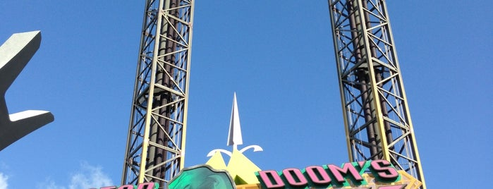 Doctor Doom's Fear Fall is one of Florida Rides 2012.