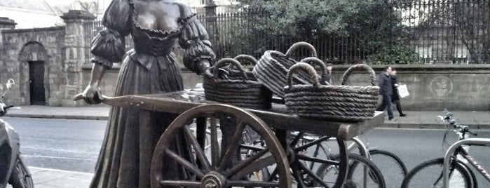 Molly Malone Statue is one of Nipping About.