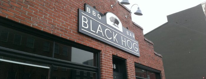 Black Hog BBQ is one of Favorite Restaurants.