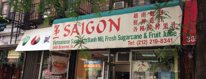 Saigon Vietnamese Sandwich Deli is one of lunch in soho.