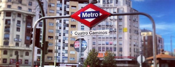 Metro Cuatro Caminos is one of MAD.