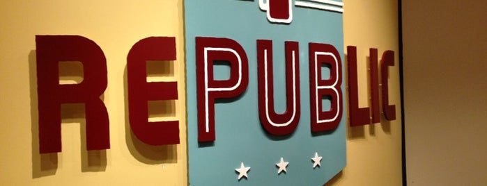 Republic is one of BMAG's Pubs.