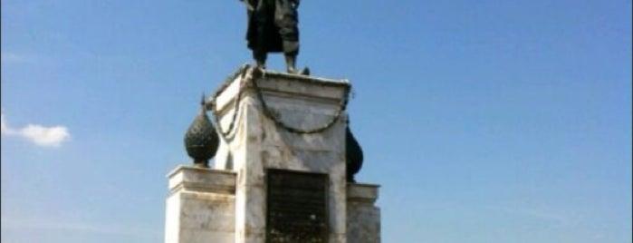 พระบรมอนุสาวรีย์สมเด็จพระนารายณ์มหาราช (King Narai the Great Monument) is one of Bkk - Lopburi Way.