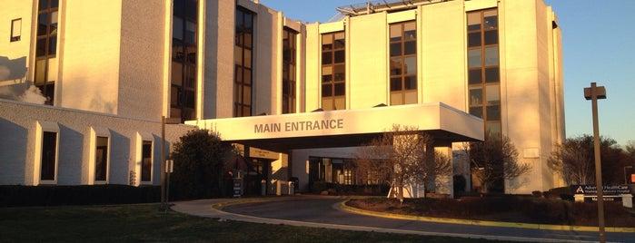 Adventist HealthCare Washington Adventist Hospital is one of hospitals.