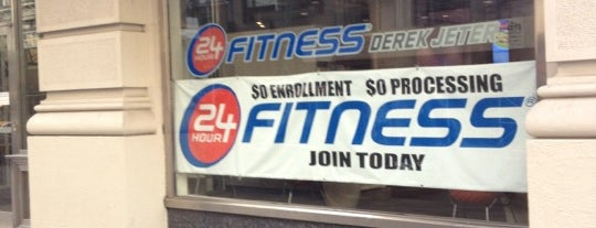 24 Hour Fitness is one of NYC.