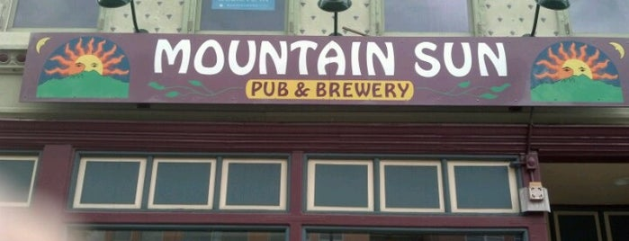 Mountain Sun Pub & Brewery is one of Boulder.