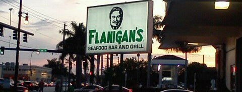 Flanigan's Seafood Bar & Grill is one of Out & About around Aventura.