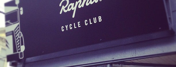Rapha Cycle Club is one of Bay Area Awesomeness.