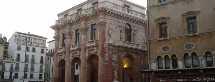 Loggia del Capitaniato is one of Vicenza, City of Palladio.