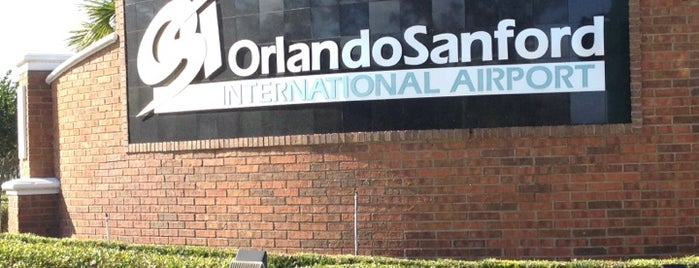 Orlando Sanford International Airport (SFB) is one of Where We Fly.