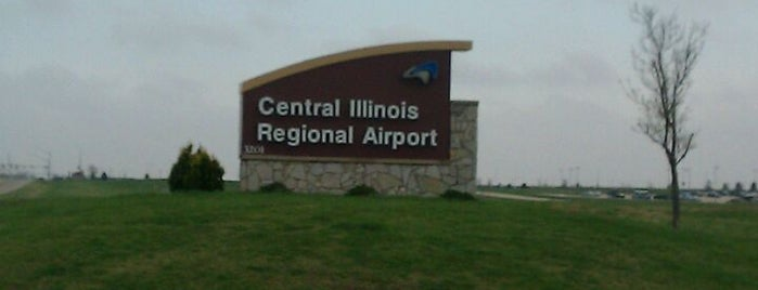 Central Illinois Regional Airport (BMI) is one of Airports been to.