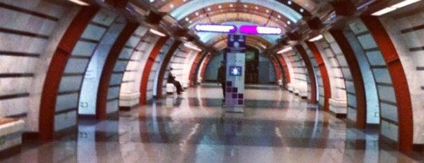 metro Obvodny Kanal is one of Метро Санкт-Петербурга.