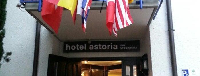 Hotel Astoria Am Urachplatz is one of Hotels.