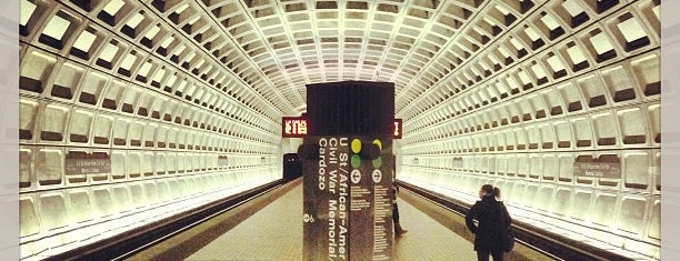 U Street Metro Station is one of WMATA Train Stations.