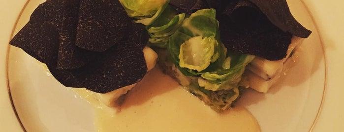 L'Ambroisie is one of 20 favorite restaurants.