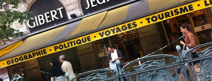 Gibert Jeune is one of Essential shopping in Paris.