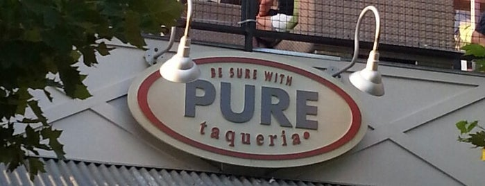 Pure Taqueria is one of 2012 foodie tour.