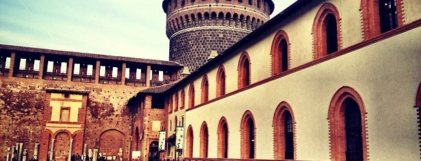 Sforza Castle is one of 101Cose da fare a Milano almeno 1 volta nella vita.