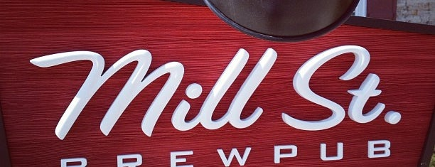 Mill St. Brew Pub is one of Restaurants.