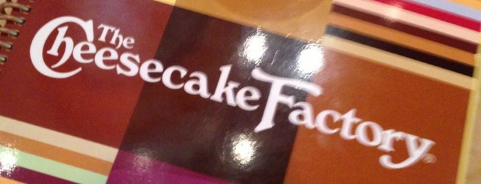 The Cheesecake Factory is one of Top 10 dinner spots in Peabody.