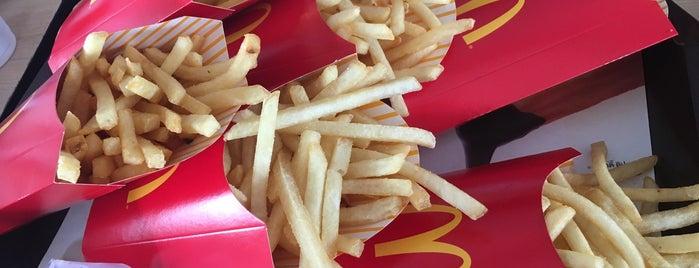 McDonald's is one of McDonald drive thru.