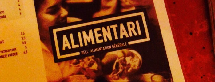 Alimentari is one of Paris - Food.