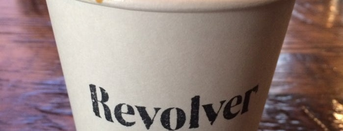 Revolver is one of GOOD COFFEE.