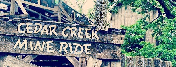 Cedar Creek Mine Ride is one of Top picks for Theme Parks.