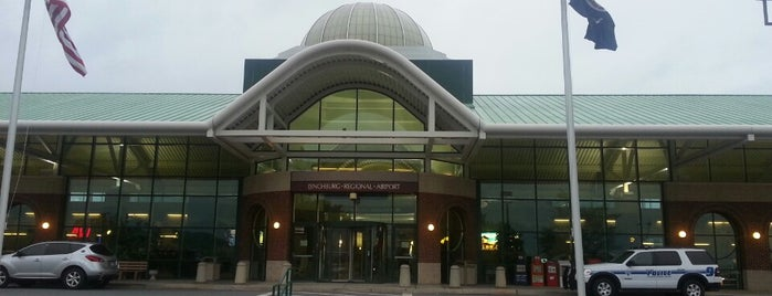 Lynchburg Regional Airport  (LYH) is one of Airports been to.