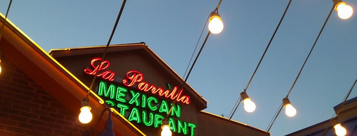 La Parrilla Mexican Restaurant is one of Favorite Food.