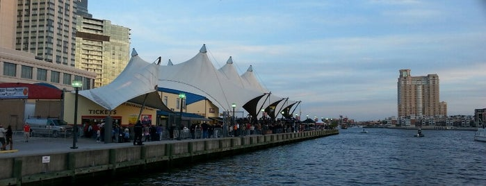 Pier Six Pavilion is one of B-More's finest! Best of Baltimore! #visitUS.