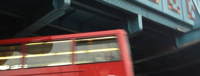 Kilburn London Underground Station is one of Tube Challenge.