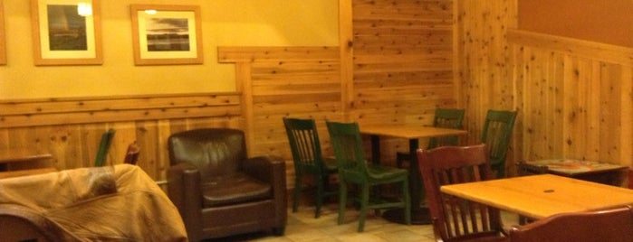 Caribou Coffee is one of Caffeine trail.