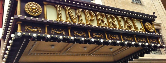 Imperial Theatre is one of NYC Broadway Theatres.