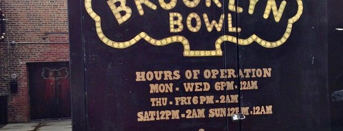Brooklyn Bowl is one of #BKLOVESuberX.