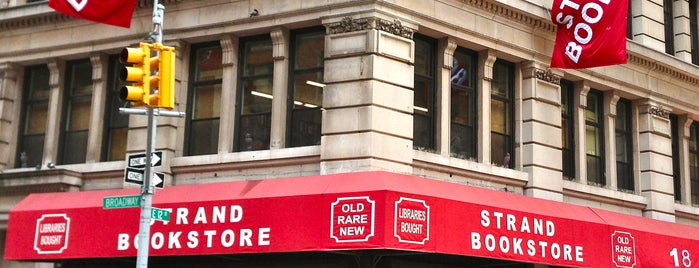 Strand Bookstore is one of New York.
