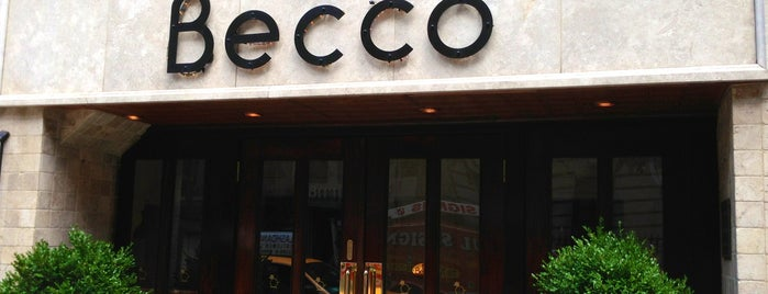 Becco is one of My NYC Must Eat.