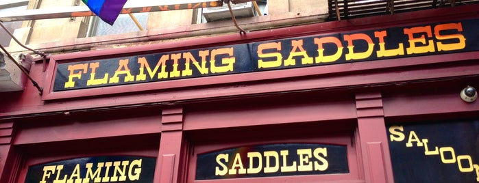 Flaming Saddles Saloon is one of Gay.