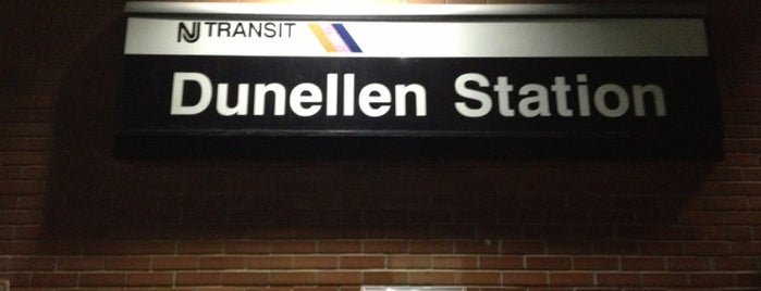 NJT - Dunellen Station (RVL) is one of New Jersey Transit Train Stations.