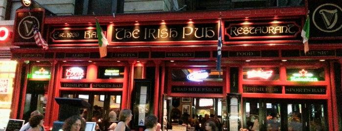 The Irish Pub is one of Mayors.