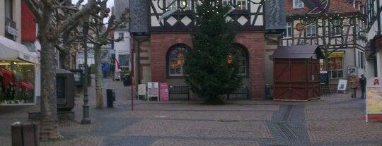 Marktplatz is one of European places I've visited..