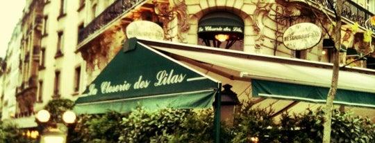 La Closerie des Lilas is one of World Sites.