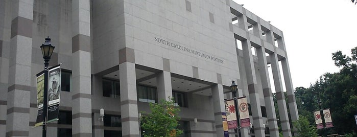 North Carolina Museum of History is one of Raleigh Favorites.