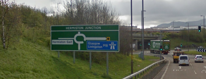 Hermiston-Gait Roundabout is one of Named Roundabouts in Central Scotland.